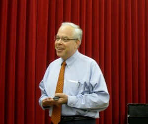 photo of Dr. Donald R. Bear at CRA 2010