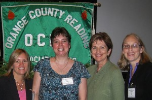 photo of Erica, Julie, Freddy & Megan at OCRA's 47th Annual Fall Conference
